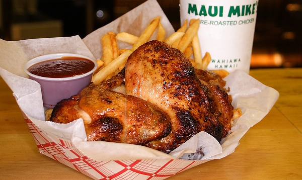 Maui Mikes Fire-Roasted Chicken